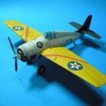 Grumman F4F3 Wildcat (VF-7) Thaipaperwork/Péricles Studio