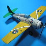 Grumman F4F3 Wildcat (VF-41) - Thaipaperwork/Péricles Studio
